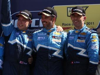 Команда Chevrolet серии WTCC сохранит пилотов в 2012 году