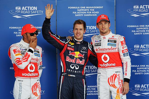 Для победы в чемпионате Феттелю хватило третьего места на Гран-при Японии