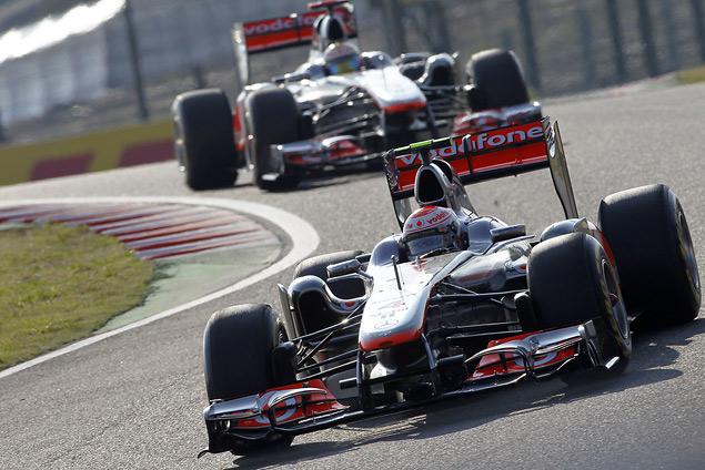 Для победы в чемпионате Феттелю хватило третьего места на Гран-при Японии. Фото 2