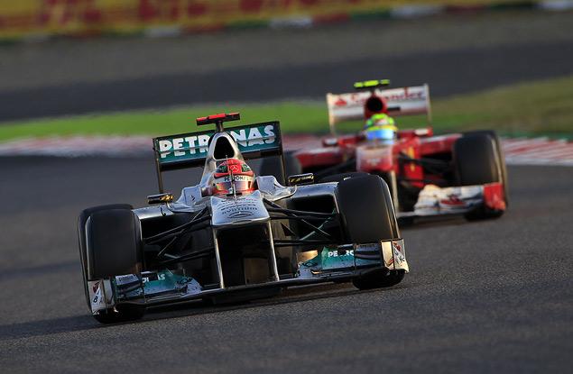 Для победы в чемпионате Феттелю хватило третьего места на Гран-при Японии. Фото 4