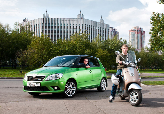 На чем быстрее ездить по Москве: на скутере или автомобиле?. Фото 1