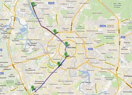 На чем быстрее ездить по Москве: на скутере или автомобиле?. Фото 3