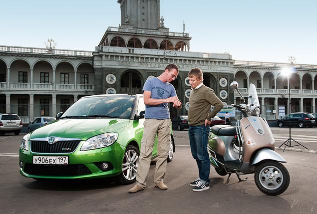На чем быстрее ездить по Москве: на скутере или автомобиле?. Фото 4