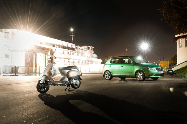 На чем быстрее ездить по Москве: на скутере или автомобиле?. Фото 5