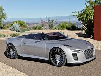 В Америке представили гибридный родстер Audi