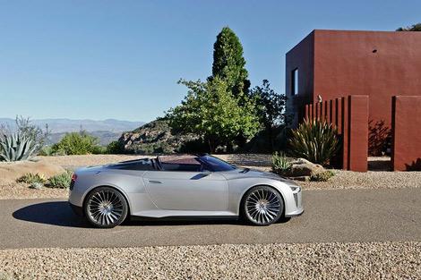 Компания Audi распространила фотографии гибридного родстера Audi e-tron, который может пойти в серию. Фото 1