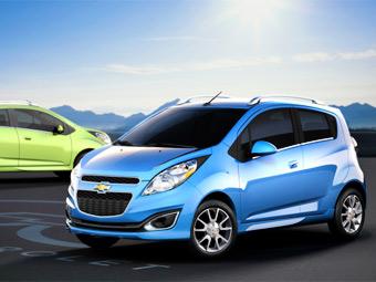 GM предложит американцам ультракомпактный хэтчбек Spark
