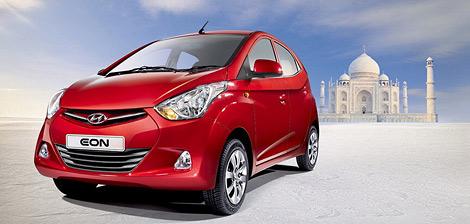 Компания Hyundai официально представила сити-кар Eon. Фото 1