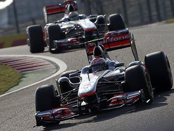 Гонщики McLaren завершили свободные заезды Формулы-1 лидерами