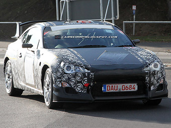 Гоночная Toyota FT-86 дебютирует на Нюрбургринге