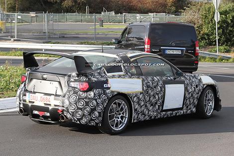 Гоночный вариант заднеприводного купе Toyota покажут во время гонок на выносливость