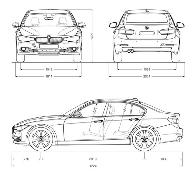 Новый седан BMW 3-Series в подробностях. Фото 1