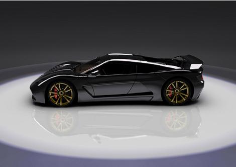 Компания Genty представила 1000-сильный суперкар Akylone