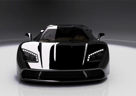 Компания Genty представила 1000-сильный суперкар Akylone. Фото 1