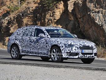 Обновленный Audi A4 Allroad приступил к тестам
