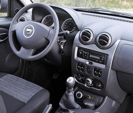 Опубликованы фотографии интерьера российской версии Renault Duster. Фото 1