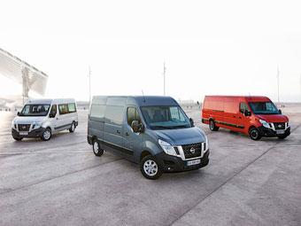 Nissan представил новый развозной фургон