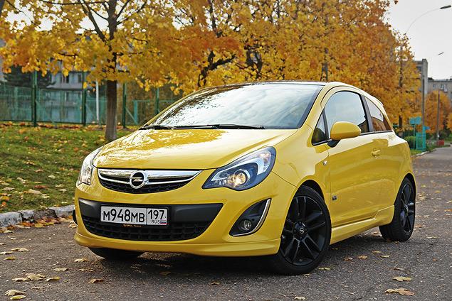 Длительный тест Opel Corsa: первая часть