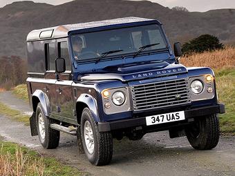 Land Rover Defender продолжат выпускать до 2017 года