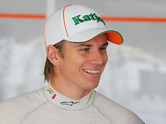Хюлькенберг заменит Сутила в Force India в 2012 году