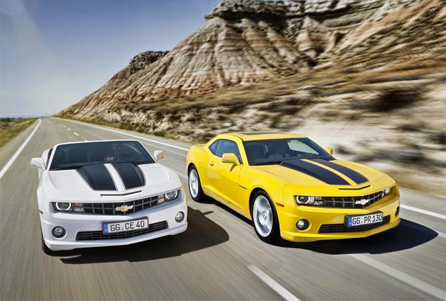 Пробуем на вкус оглушительный Chevrolet Camaro и экономичный Aveo. Фото 2
