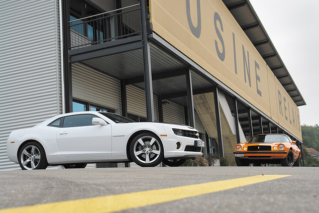 Пробуем на вкус оглушительный Chevrolet Camaro и экономичный Aveo. Фото 6
