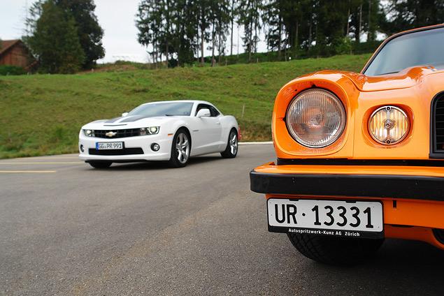 Пробуем на вкус оглушительный Chevrolet Camaro и экономичный Aveo. Фото 8