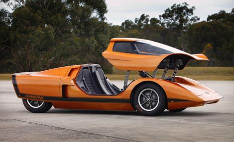 """Компания Holden реставрировала концепт Hurricane 1969 года, который был оснащен """"футуристичными"""" технологиями"""