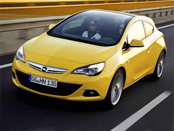 Трехдверка Opel Astra получила панорамное лобовое стекло