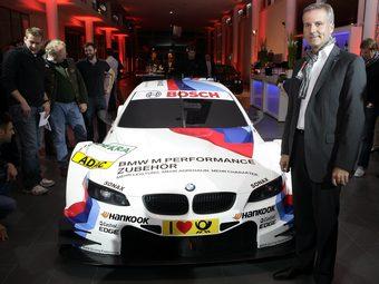 BMW показала раскраску нового M3 DTM