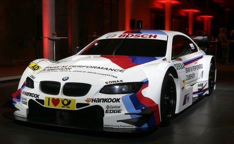 Команда BMW официально представила автомобиль M3 для кузовной серии DTM. Фото 1