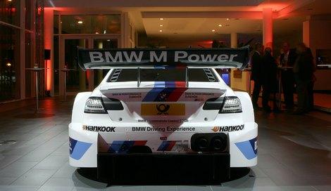 Команда BMW официально представила автомобиль M3 для кузовной серии DTM. Фото 2
