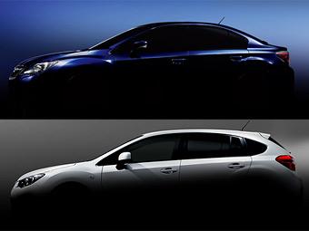 """Subaru представит новую """"Импрезу"""" 30 ноября"""