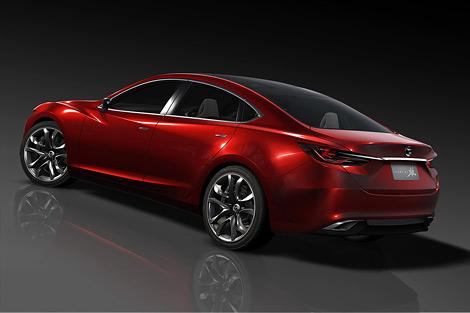 "На автосалоне в Токио компания Mazda представит концепт Takeri - седан класса ""D"""