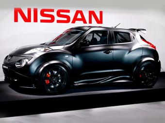 Nissan показал живьем кроссовер Juke с мотором от суперкара GT-R