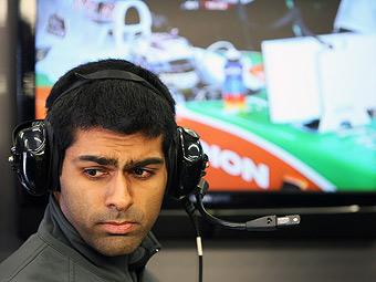 Чандхоку не разрешили участвовать в домашней гонке Формулы-1