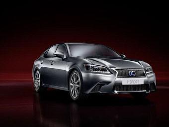 Спортивный Lexus GS получил полноуправляемое шасси