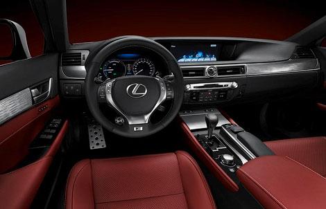 Компания Lexus представила седан GS нового поколения со спорт-пакетом F-Sport. Фото 5