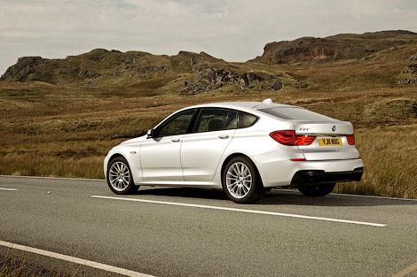 """Большой """"хэтчбек"""" BMW 5-Series GT получил спортивный обвес кузова, заниженную подвеску и М-салон"""