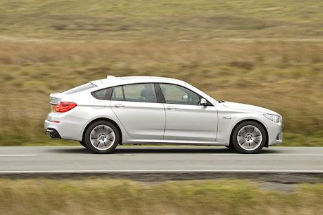 """Большой """"хэтчбек"""" BMW 5-Series GT получил спортивный обвес кузова, заниженную подвеску и М-салон. Фото 1"""