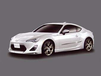 В интернете рассекретили внешность серийного купе Toyota FT-86