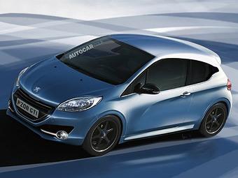 """У Peugeot 208 появятся две """"заряженные"""" модификации"""