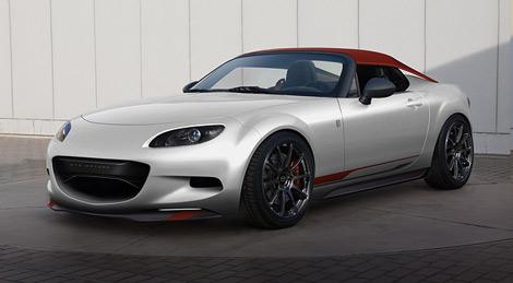 На моторшоу SEMA в Лас-Вегасе Mazda представит два концепт-кара