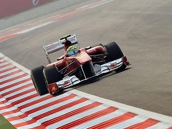 Фелипе Масса стал лидером свободных заездов Формулы-1 в Индии