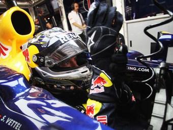 Себастьян Феттель показал быстрейшее время на тренировке Гран-при Индии