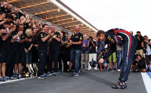 Себастьян Феттель выиграл дебютную квалификацию Формулы-1 в Индии