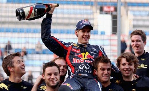 Себастьян Феттель одержал победу на Гран-при Индии