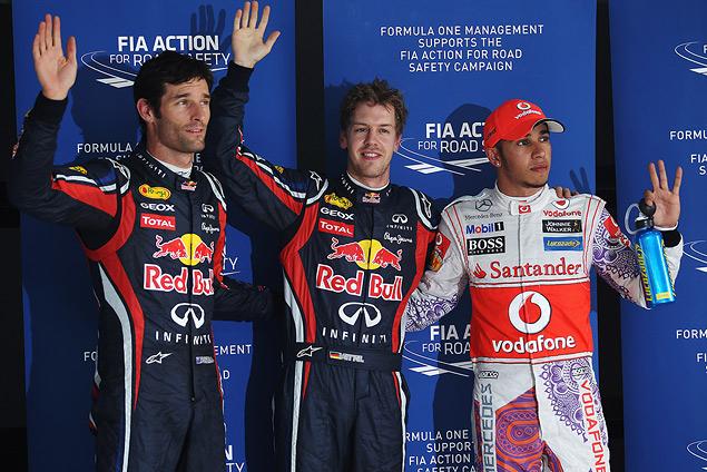 Гран-при Индии вновь выиграл Себастьян Феттель