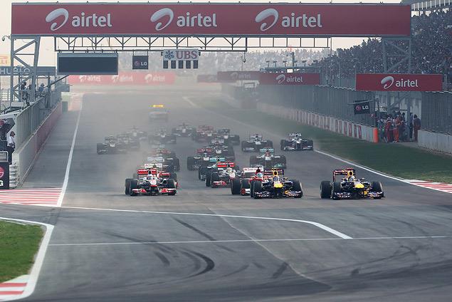 Гран-при Индии вновь выиграл Себастьян Феттель. Фото 1