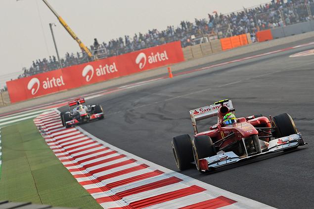 Гран-при Индии вновь выиграл Себастьян Феттель. Фото 2